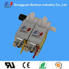 Three way solenoid valve and normal closed gas valve