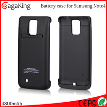 Mobile charger case Cell battery case 4800MAH For samsung note 4 Mobile phone cover Cell power case
