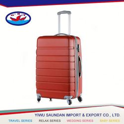 Latest Wholesale attractive style travel 100% pc luggage from direct manufacturer