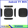 a través de 8880 arm cortex a9 androide hd tv por internet cuadro de doble núcleo mx inteligente android tv box
