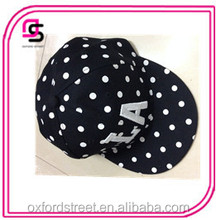 latest designs highly quality hip-hop wave point baseball hat