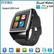 Newest Audio Player Pedometer GSM watch phone android wifi 3g