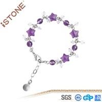 2015 New Crystal Stainless Steel Bracelet Jewelry