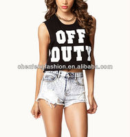 CHEFON Ladies Sexy Off Duty Crop Top CB0690