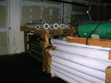 PVC PVDC PP ROLLS AND PET BOTTLES ABS PLASTIC SCRAP