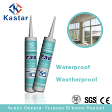 Assessed Supplier 280ml one-part acetic cure silicone sealant