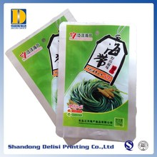 Aluminum Foil Laminated Shredded Kelp Boiling Pouches Printing