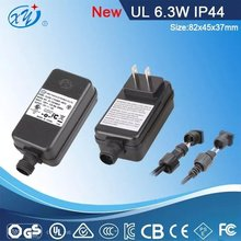 alibaba china supplier sign in waterproof switching power supply ip44 120v ac to 24v dc power adaptor
