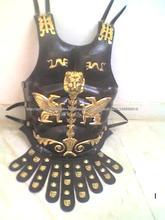 armadura romana couro, Muscle armadura de couro, armadura medieval, armadura do peito de couro, armadura no peito muscular