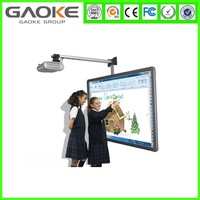 """82"""" Multi writing electronic portable wireless smart interactive white board,touch screen interactive whiteboard"""