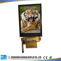 LCD 2.8inch QVGA TFT lcd screen with CTP with SPI/8080/RGB interface with Capacitive touch panel