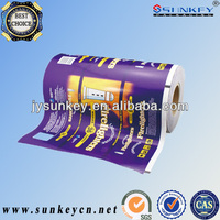 laminated packaging roll stock film/hot sell laminated flexible plastic packaging