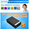 12V li-ion Rechargeable DC Battery Pack for Emergency Power with Indicator Supply Factory Price