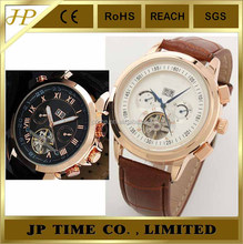 leather strap 6 Elegant Automatic Mechanical Man's Man high class watches