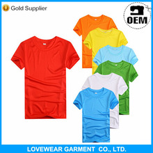 Unisex Marathon Race Polyester Custom Silk Screen Printing Running Sports T-shirt China Manufacturer