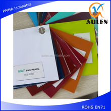 high gloss laminate sheet pvc factory