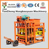 Building equipment concrete block making machine price QTJ4-28 interlock brick machine hot in south Africa