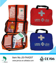 CE FDA ISO approved portable first aid kit,car first aid kit,emergency kit
