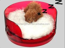 New model acrylic pet supply/acrylic pet bed/acrylic cat bed