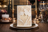 Love Each Other Style Ali Hot Selling wholesale price White Color Romantic wedding invitations