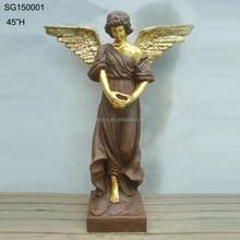 Bela handmade grande size jardim anjo para venda