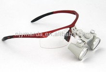 Best Quality CH2.5X Dental Loupe Galilean Glass magnifier dental implant surgical instrument