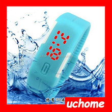 UCHOME new design 2015 water resist cheap digital led watch promotion watch