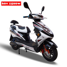 2015 New 1500w powerful electric motorcycle 60v with disc brake for adult