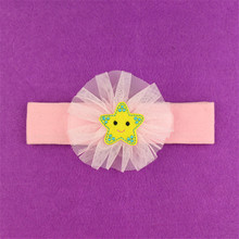 lovely wholesale charms artificial rose headband
