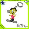 New product Custom design PVC rubber keychain