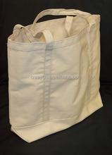 Heavy duty Eco-friendly Tote Organic Cotton Boat Bags