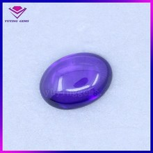 cheap 13*18mm oval cabochon with flat back glass stone wholesale suppliers