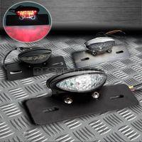 Universal 12V Motorcycle 14 LED License Plate Tail light for Harley /Honda /Yamaha /Suzuki