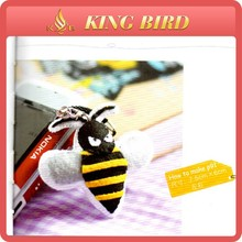 Popular wholesale-felt-fabric used as Small wasp ornaments