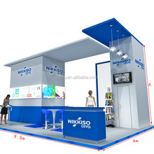 TANFU CES Trade Show Booth Made by Aluminum Frame