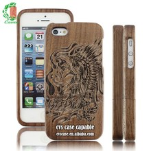 New Design Wood Mobile Phone Case for iPhone 5 With Popular Picture