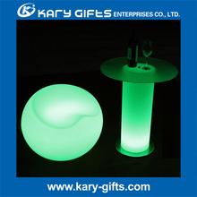 venta al por mayor de muebles luz llevada multicolora tabla de la barra de luz