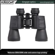 Alta calidad HD 10 X 50 larga distancia prismáticos