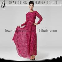 MD8029 Modesty beautiful muslim long sleeve maxi dress muslim bridesmaid dresses abaya models dubai for abaya egypt