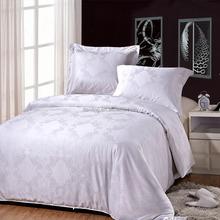 King Size Cotton Silky Jacquard Fabric Bedding Set Duvet Cover Sets