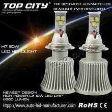 2015 New 3 sides LED H7 Automobile LED light, Car Headlamp, LED Headlight