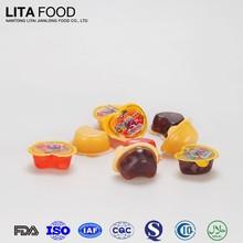 Mezcla de frutas aromatizado amor forma Jelly picaduras