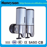 ABS+ #304 stainless steel hotel bathroom liquid soap dispenser