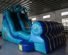 hot sale octopus inflatable water slide