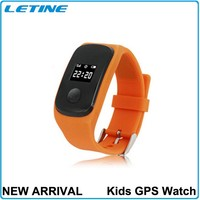 SOS Function Kids GPS watch Remote GPS Tracking Real-time Monitoring