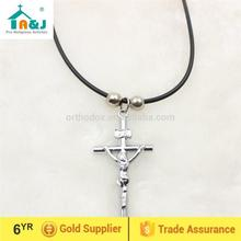 Over 6 years Alibaba Gold Supplier new cross pendant for christian or catholic Wholesale newest