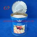 Precio barato alimentos enlatados, En lata pera mitades en almíbar ligero con etiqueta privada