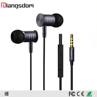 Noise Cancelling Earphone For iPhone New Design High Quality Earbuds with Microphone