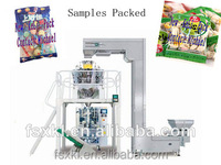puffed food potato chips banana chips packing machine full auto production line with high quality