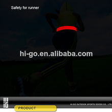 2014 nuevos productos deporte led pretina llevado para correr